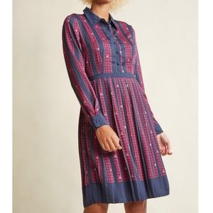 Modcloth Just My Typist Shirt Dress